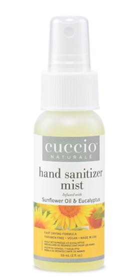 Cuccio Naturale Hand Sani HydraLotion Spray