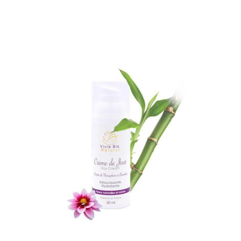 Crème de Jour Bio hydratante peau sensible