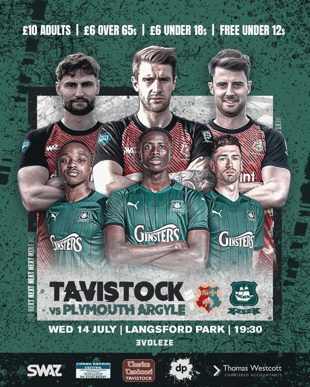 Tavistock AFC v Plymouth Argyle