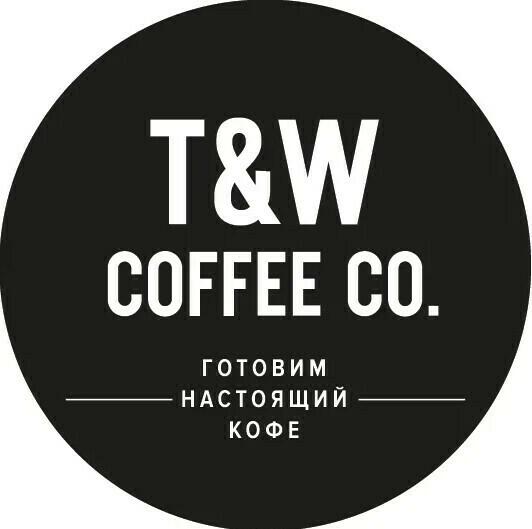 Наклейка T&W Новый логотип (50 шт.)