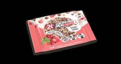 Хлебцы протеино-злаковые ProteinRex, Морозная клюква, 55 гр.