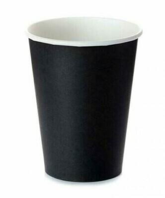 стакан 450 мл. черный (50 шт.)