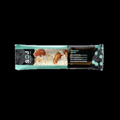 Ореховый батончик SOJ с кокосом и ванильно-сливочный вкусом