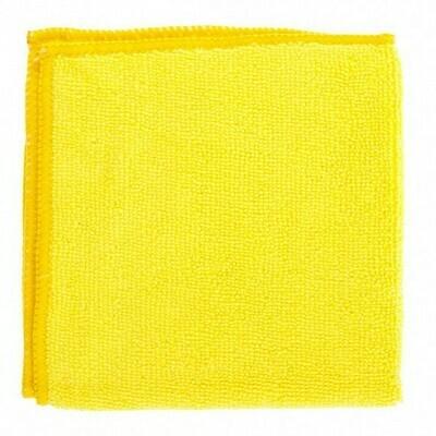 Тряпка микрофибра (желтая) 1 шт.