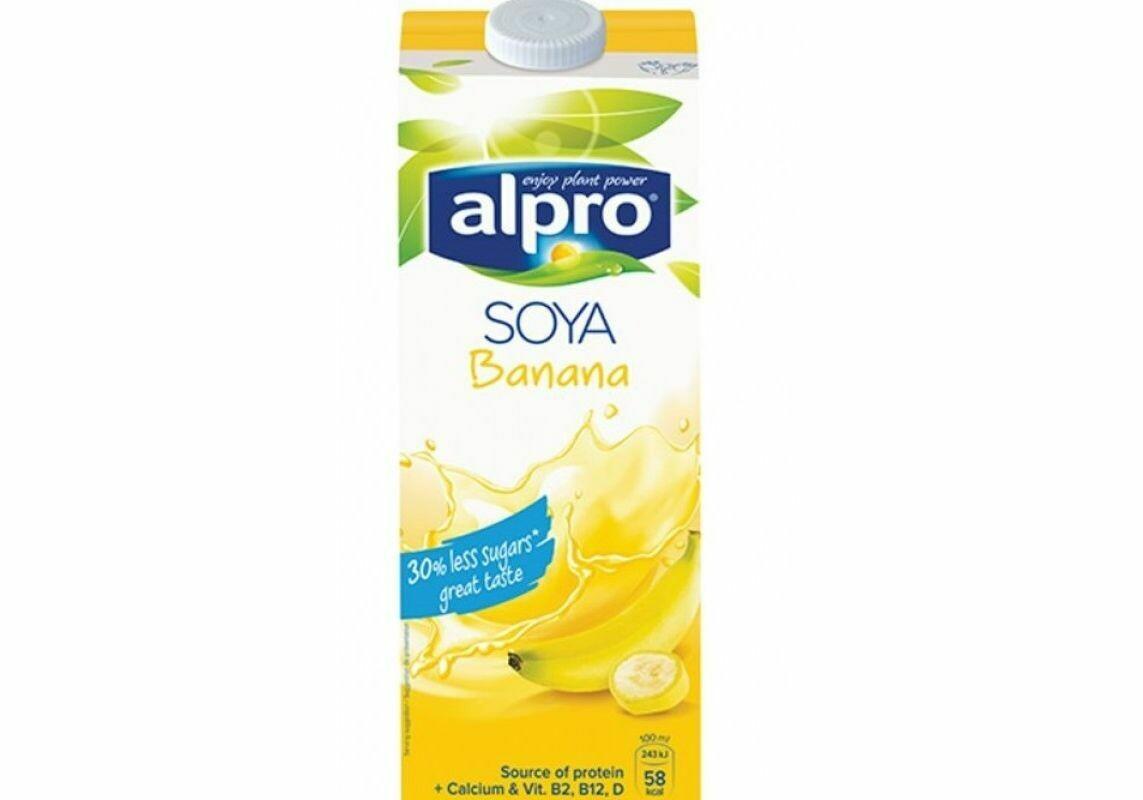 Молоко соево-банановое ALPRO