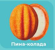 Кремлевские орешки оранжевые (пина-колада) 5 шт.