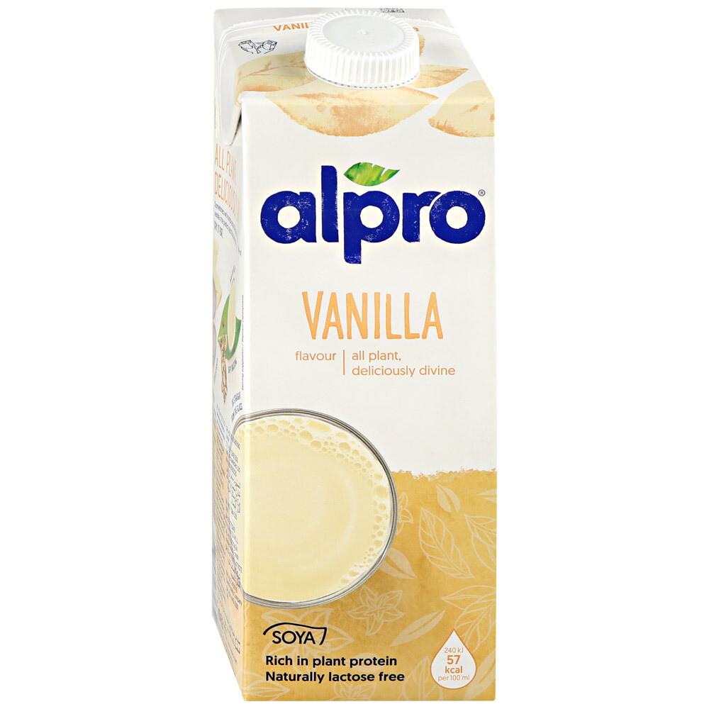 Молоко соево-ванильное ALPRO
