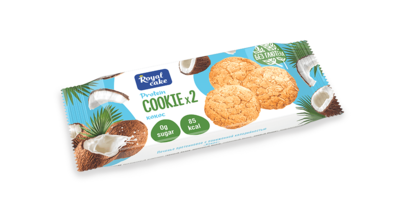 """Печенье с высоким содержанием протеина """"Кокос"""" 50 гр."""