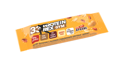 "Батончик протеиновый ProteinRex ""Арахис"" 60 гр."