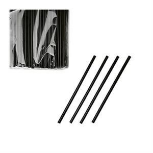 Трубочки черные в инд. упаковке 500 шт