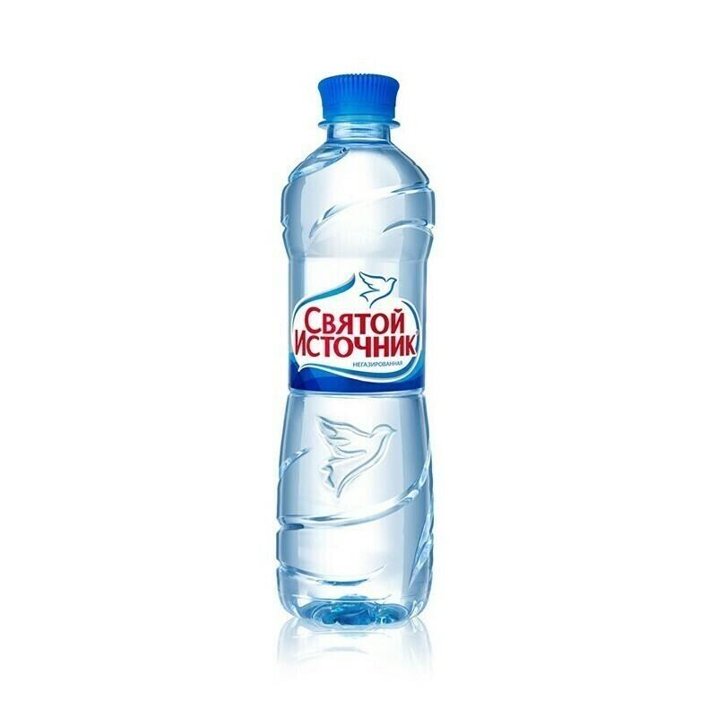 Вода Святой Источник б/г 0,5 л. (12 шт.)