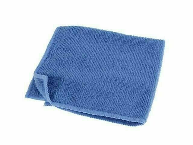 Тряпка микрофибра (синяя) 1 шт.