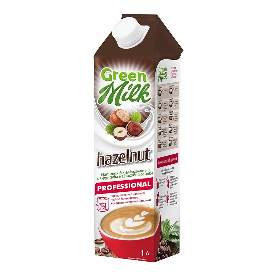 """Молоко фундучное """"Green Milk"""" 1 л."""