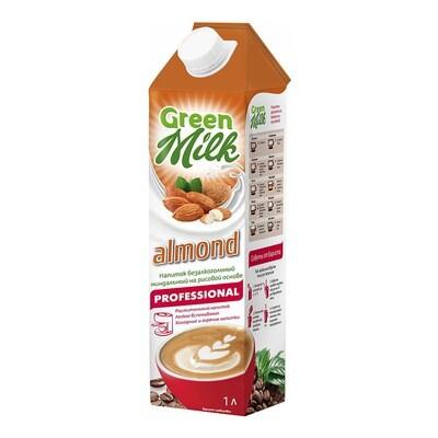 """Молоко миндальное """"Green Milk"""" 1 л."""