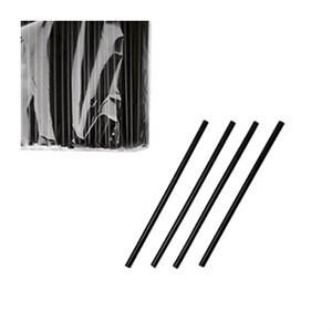 Трубочки  в инд. упаковке черные 500 шт