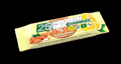 """Печенье с высоким содержанием протеина """"Миндаль-лимон"""" 50 гр."""