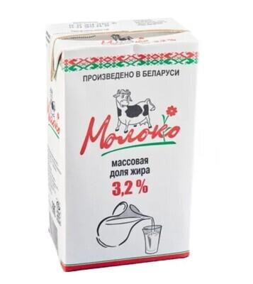 Молоко 3,2% (12 шт) ЗАКАЗ ОТ 5-ТИ УПАКОВОК