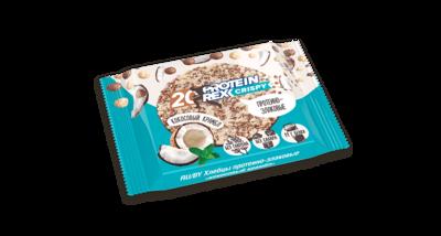 Хлебцы протеино-злаковые ProteinRex, Кокосовый крамбл, 55 гр.