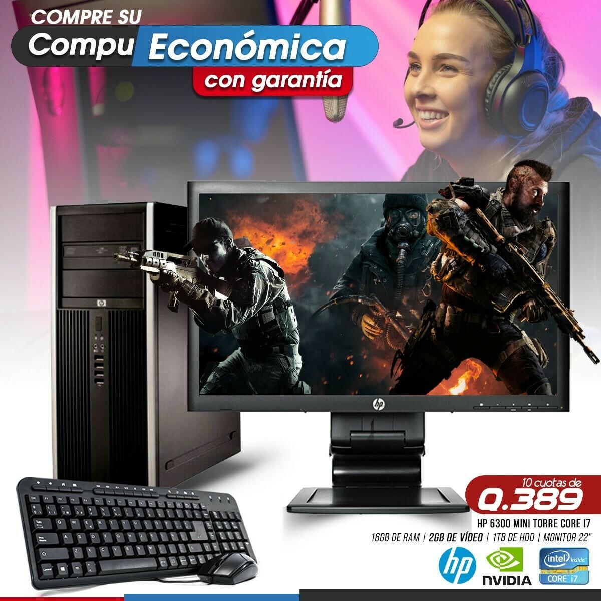 HP Elite Pro 8300 Core i7 Mini Torre