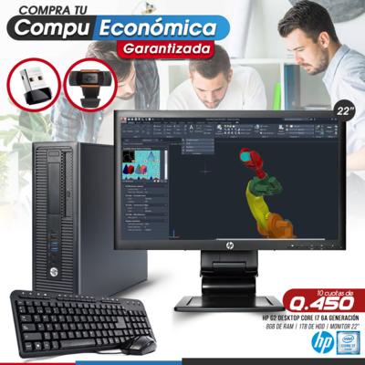 HP Elite Pro 800 G2 Core i7 Desktop