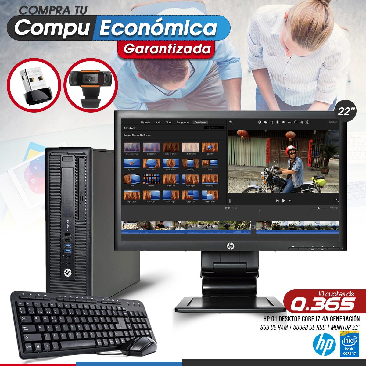 HP Elite Pro 800 G1 Core i7 Desktop