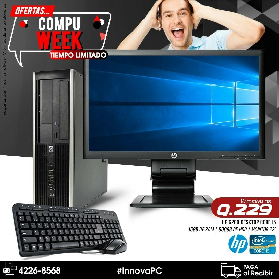 HP EliteDesk 6300 de 3a Generación 16Gb de RAM