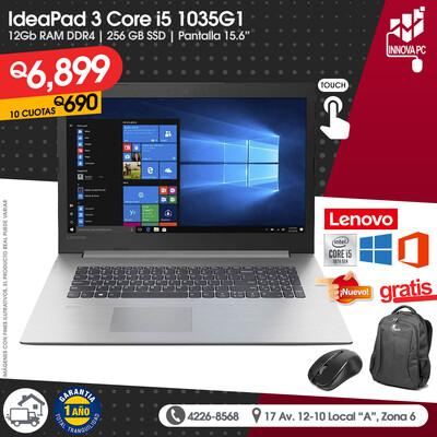 LENOVO TouchScreen IdeaPad 3 Core i5 1035G1