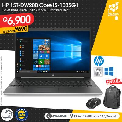 HP 15T-DW200 Core i5 1035G1