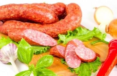 Колбаса полукопченая «Охотничья особая» 500 гр