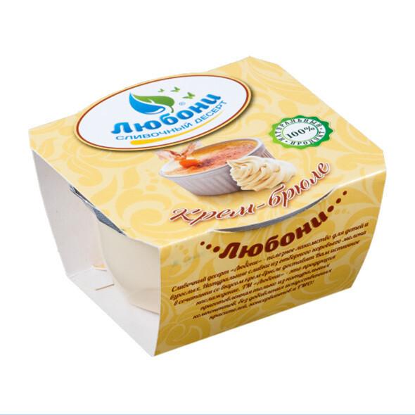 """Десерт сливочный """"Крем-брюле""""  70 гр"""