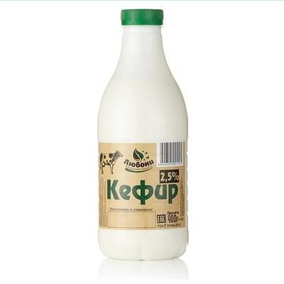 Кефир 2,5% 900г