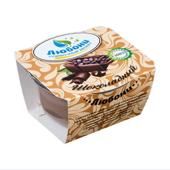 """Десерт сливочный """"Шоколадный""""  125 гр"""