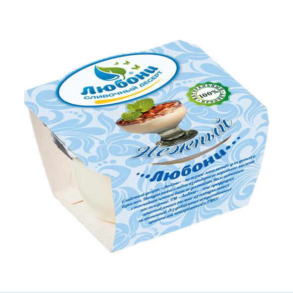 """Десерт сливочный """"Нежный""""  125 гр"""