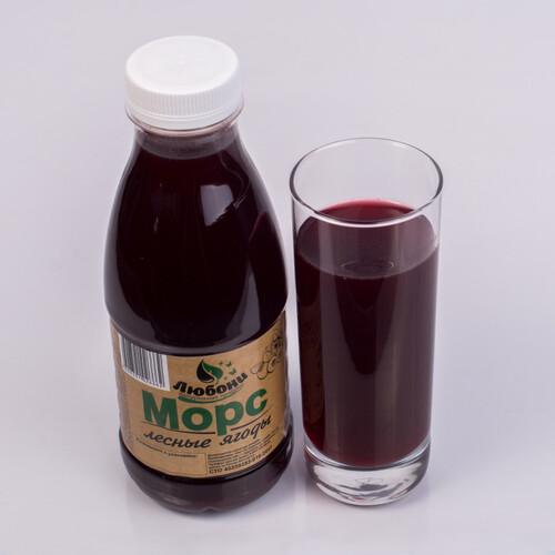 Морс лесные ягоды 0,5л