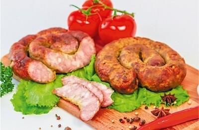 Колбаса варено-копченая «Украинская жареная»