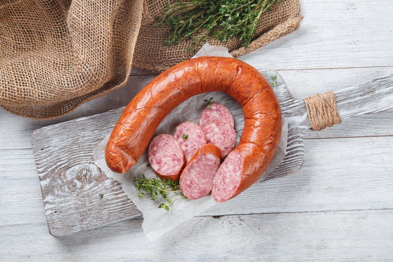 Колбаса полукопченая «Краковская»