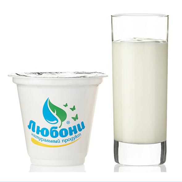 Йогурт клубничный 1% 250 гр