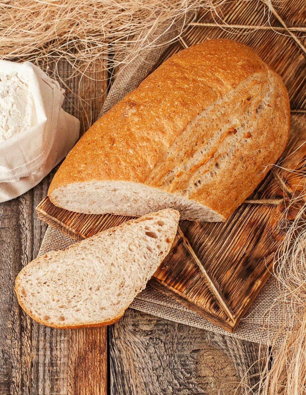 Хлеб с пшеничными отрубями 250 гр