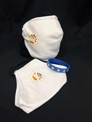 Two Bremain Masks (plus one EU wristband)