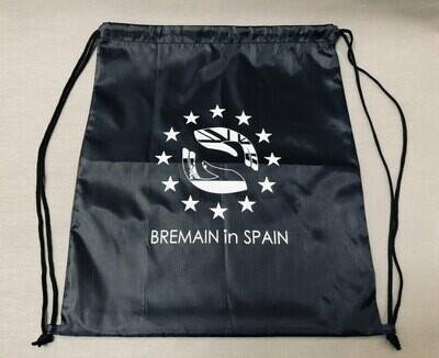 New - Bremain branded drawstring backpack. Dark navy. €5 each