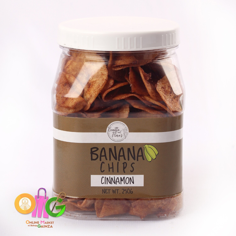 Benitta & Flora's - Cinnamon Banana Chips