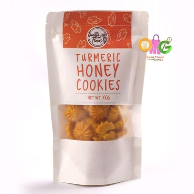 Benitta & Flora's - Turmeric Honey Star Cookies