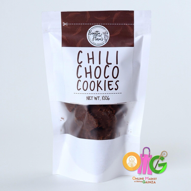 Benitta and Flora's - Chili Choco Cookies