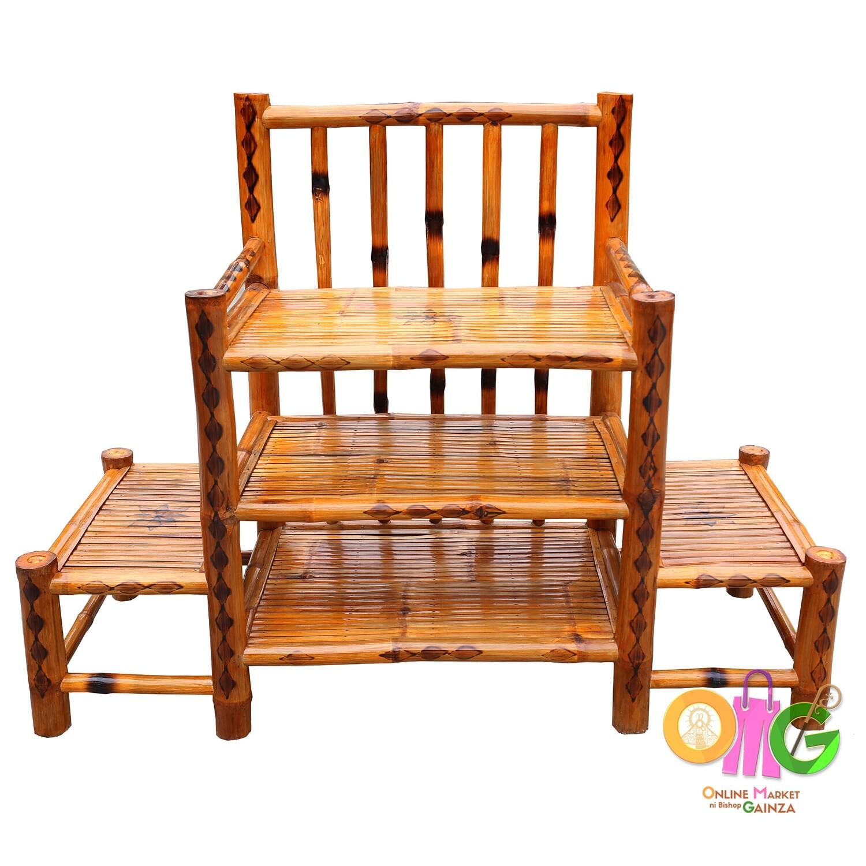 Borromeo's Bamboocraft - TV Rack