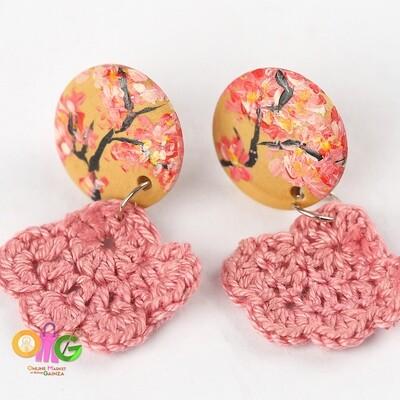 BuTinTing's - Cherry Blossom Earrings