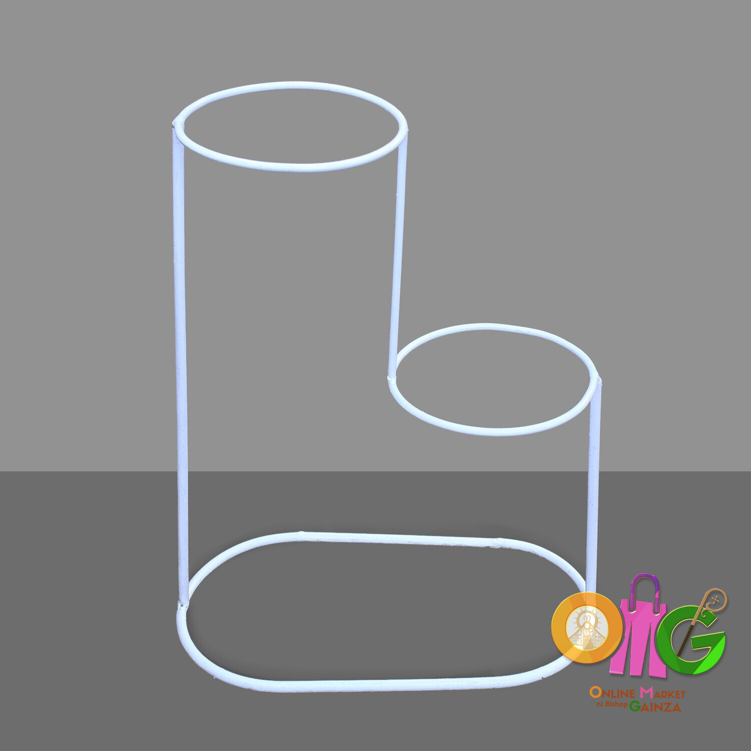 Caguimbal Garden Accessories - Double Round Stand