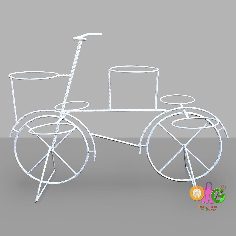 Caguimbal Garden Accessories - Medium Six Pots Bike