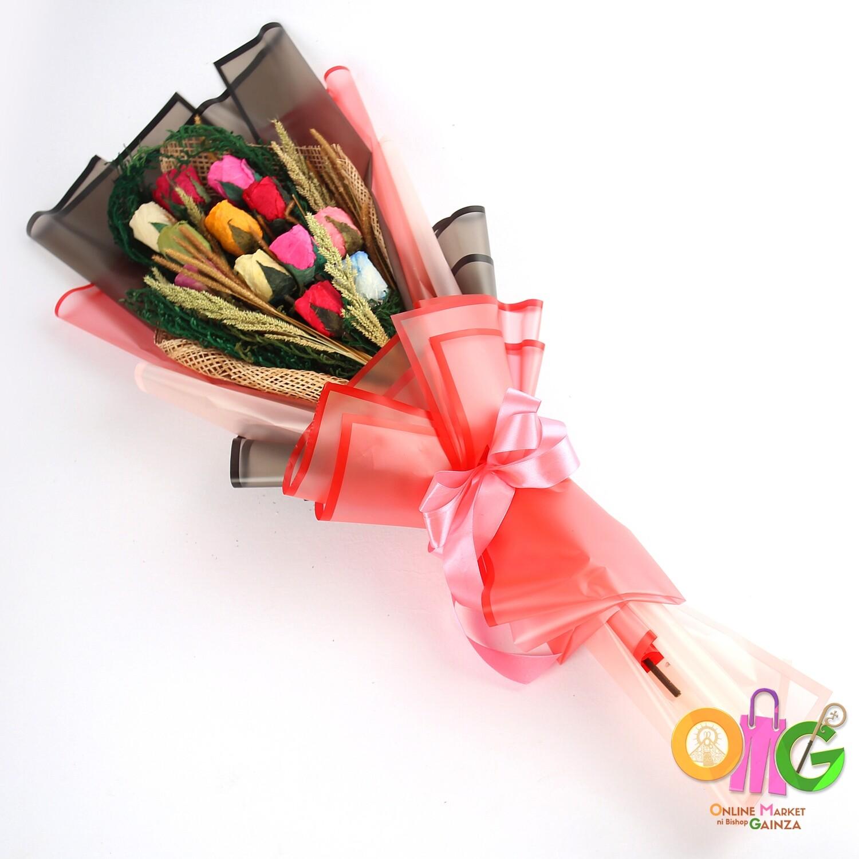 Cahs Nostalgic Petals Flower Shop - Arm Bouquet (Assorted Color)
