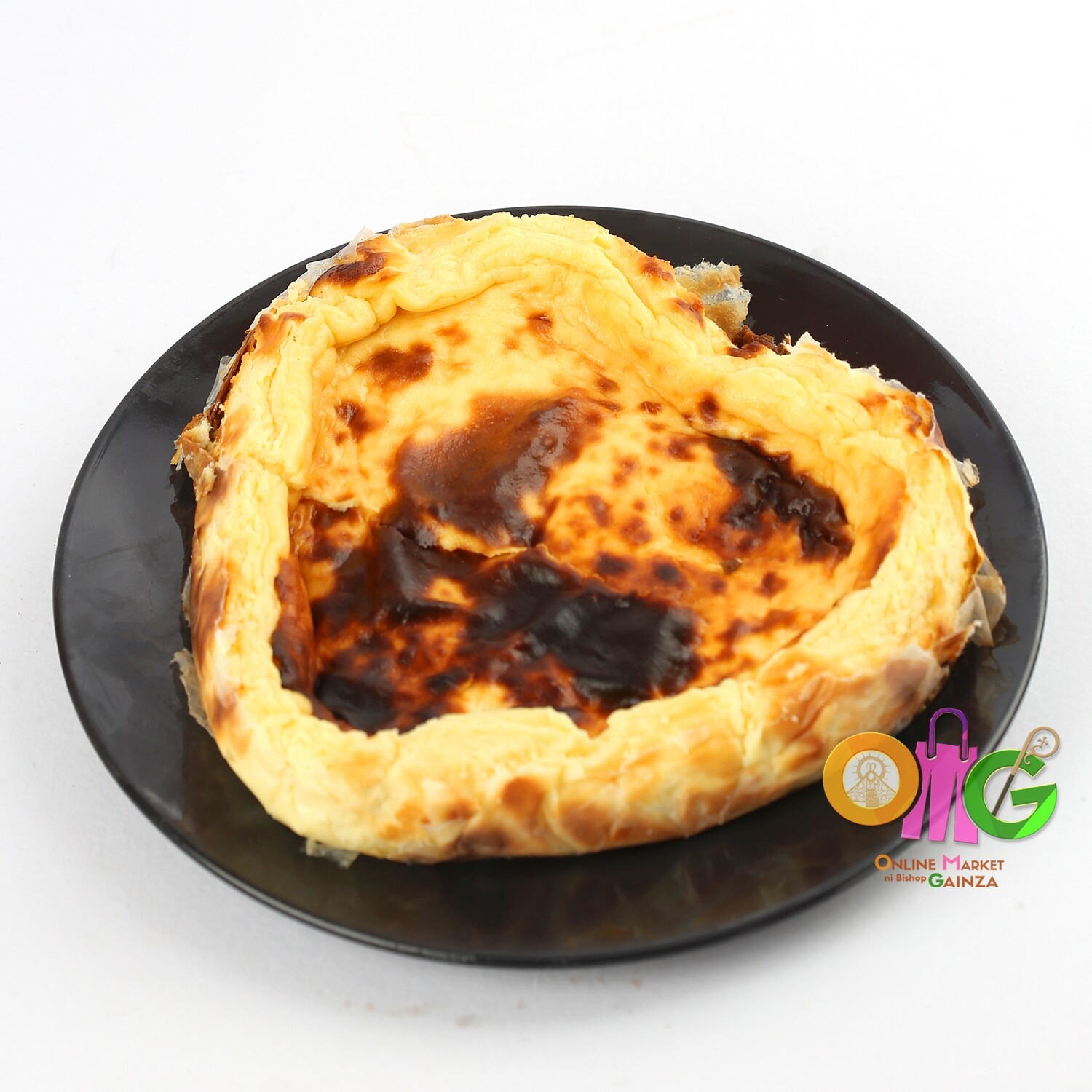 Carmelo's Baked Goodies - Basque Burnt Cheesecake