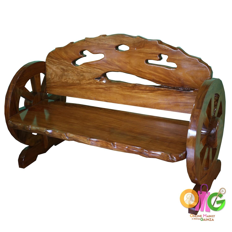 Crazy Cut Woodcraft - Love Seat